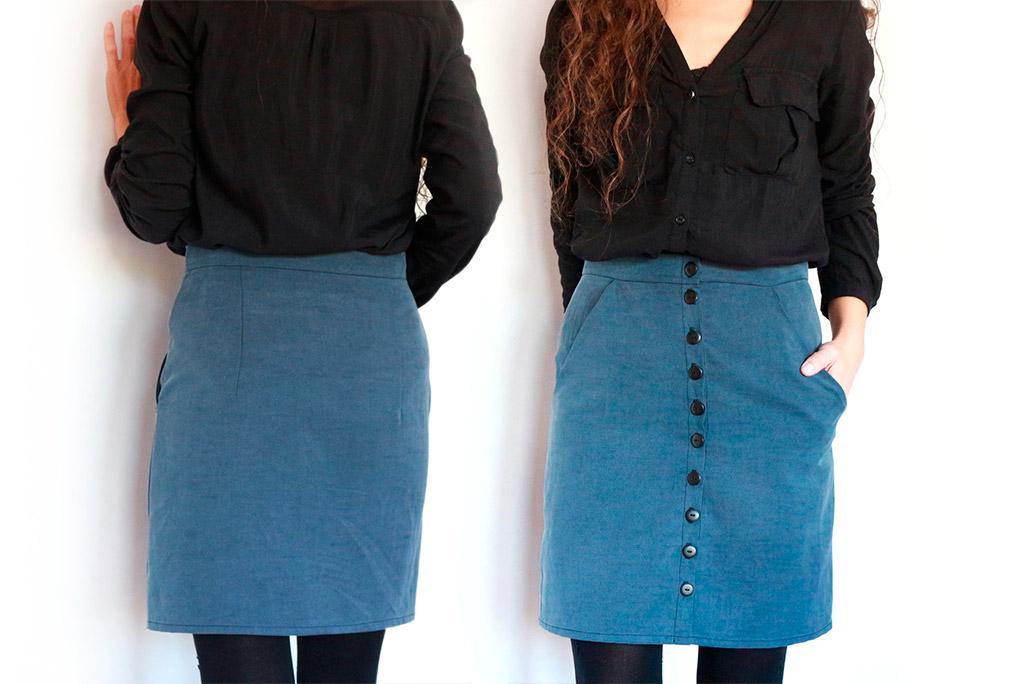 falda corta