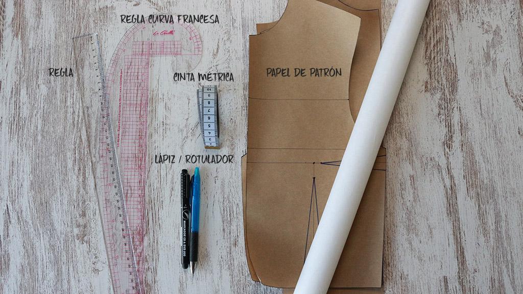 materiales para hacer patrón base